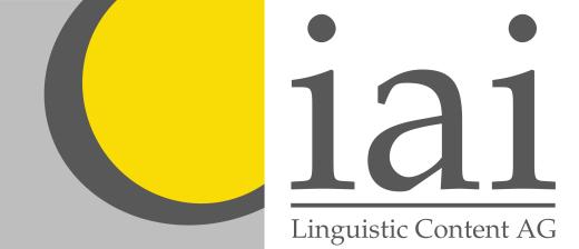 IAI Linguistic Content AG